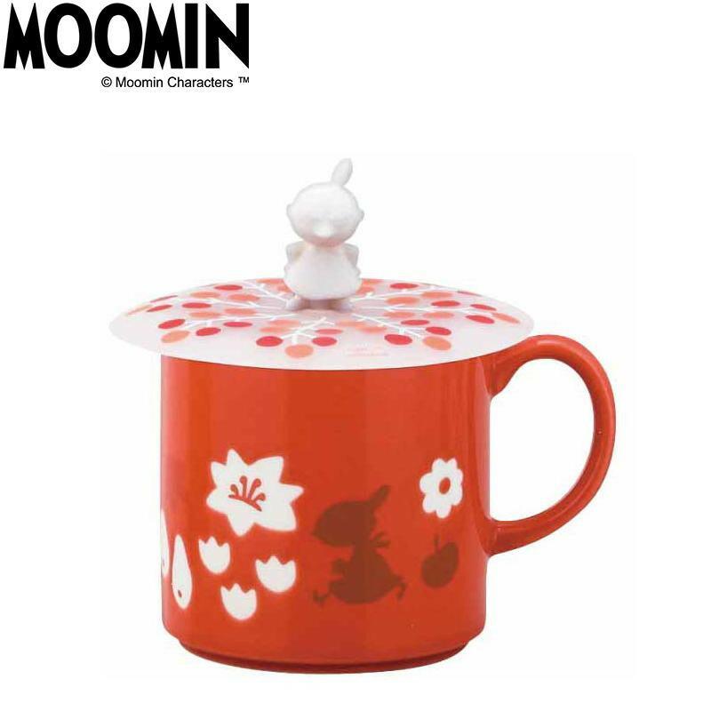 MOOMIN ムーミン カップカバー付マグ リトルミイ MM2202-11P「通販百貨 Happy Puppy」