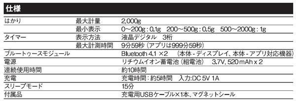 HARIO ハリオ コーヒースケール SmartQ ジミー EQJ-2000-B「通販百貨 Happy Puppy」