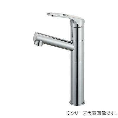三栄 洗面用水栓金具 SANEI シングルワンホール洗面混合栓(省