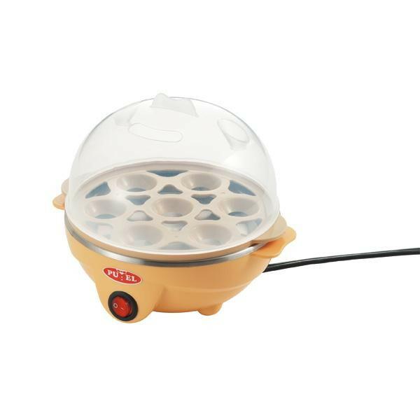 『プエル』電気たまごゆで器 PU-109「通販百貨 Happy Puppy」