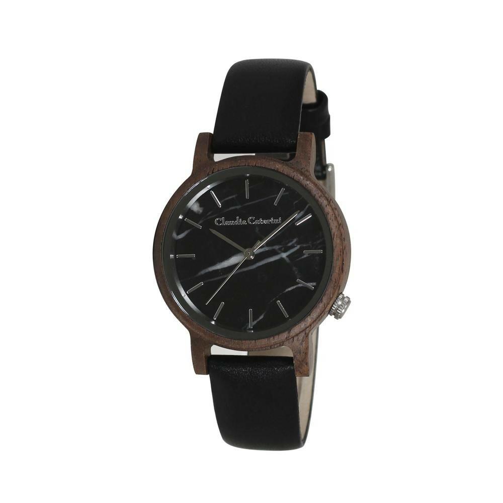 腕時計 クラウディア・カテリーニ ブラック CC-A120-BKW「通販百貨 Happy Puppy」
