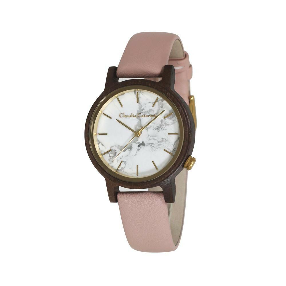腕時計 クラウディア・カテリーニ ピンク CC-A120-LPW「通販百貨 Happy Puppy」