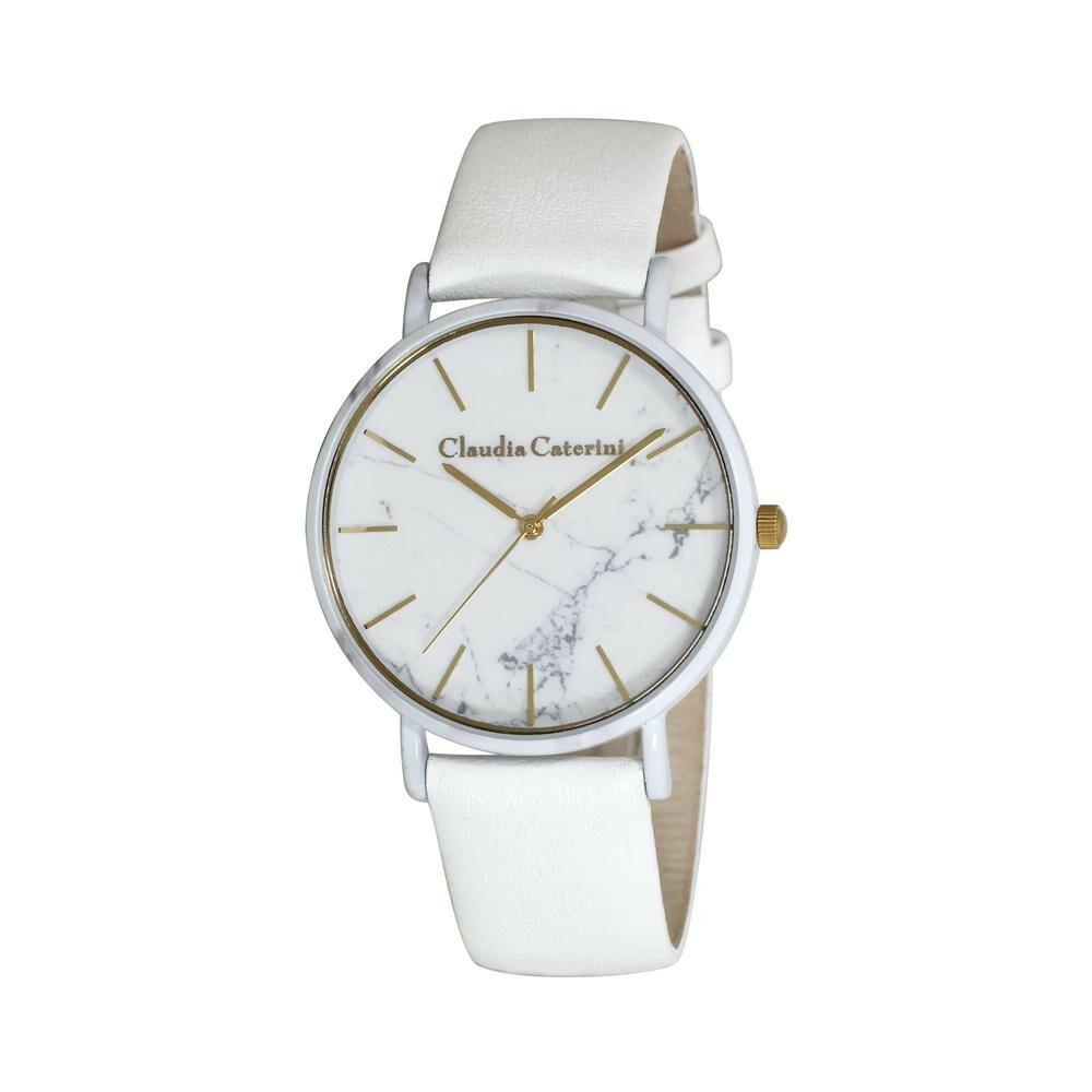 腕時計 クラウディア・カテリーニ ホワイト CC-A121-WTM「通販百貨 Happy Puppy」