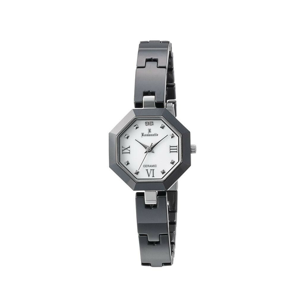 ROMANETTE(ロマネッティ) レディース 腕時計 RE-3533L-01「通販百貨 Happy Puppy」