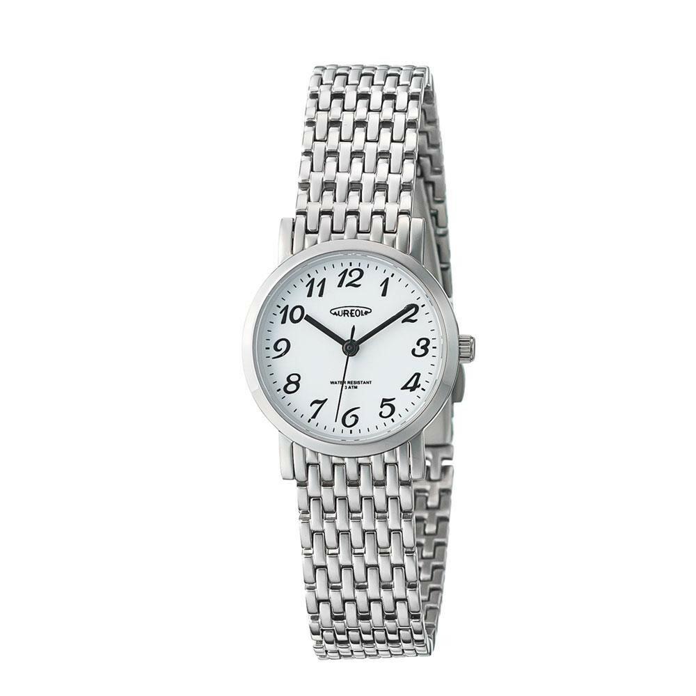 AUREOLE(オレオール) ドレス レディース 腕時計 SW-613L-03「通販百貨 Happy Puppy」