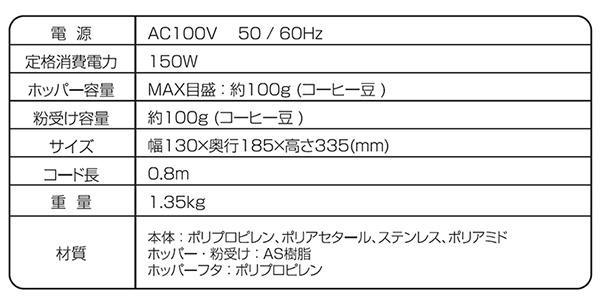 HARIO ハリオ V60 電動コーヒーグラインダーコンパクト ホワイト EVC-8W「通販百貨 Happy Puppy」