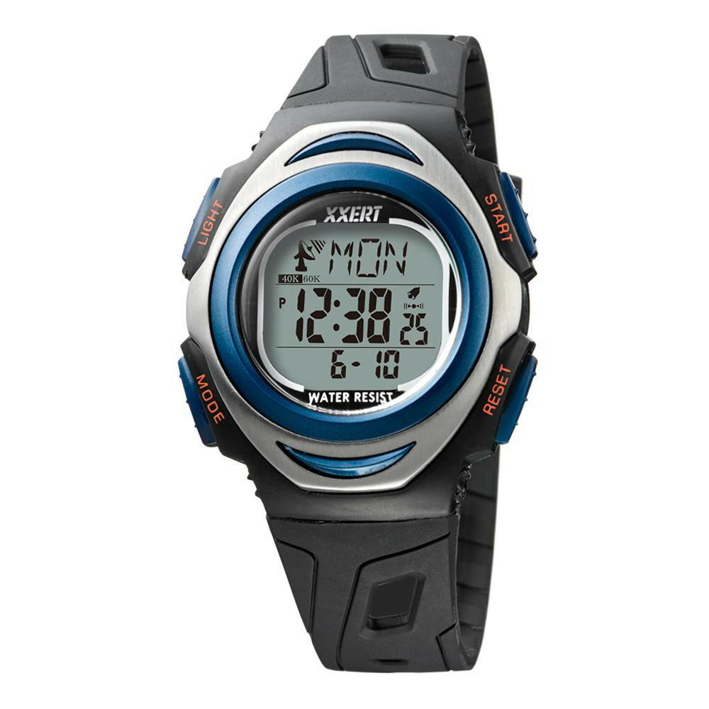 電波ソーラーウォッチ 腕時計 ブルー XXW-501 BU「通販百貨 Happy Puppy」