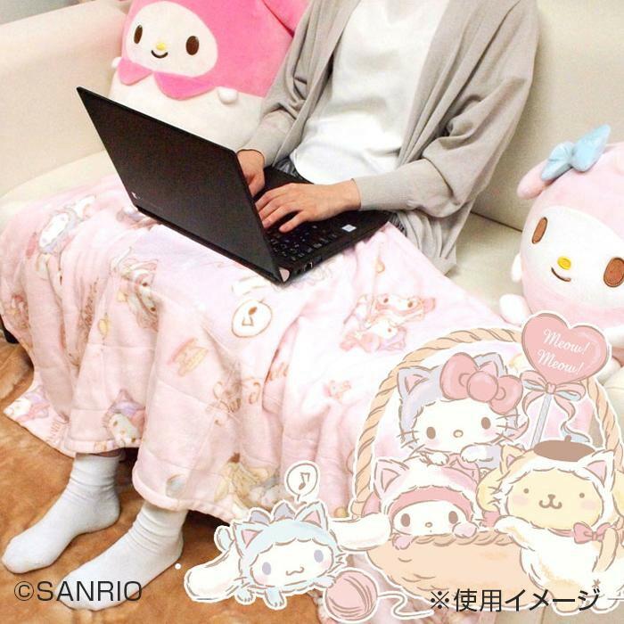 USBひざ掛け サンリオキャラクターズ SB-488-S「通販百貨 Happy Puppy」