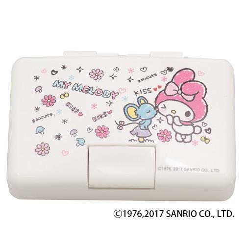 サンリオ ワンタッチ印鑑ケース マイメロディKISS☆KISS 12×60用 IB-OT02「NET Asahi」