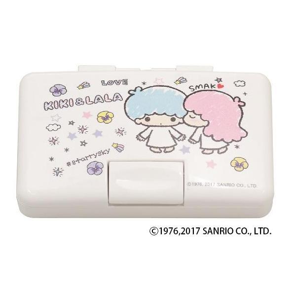 サンリオ ワンタッチ印鑑ケース キキ&ララKISS☆KISS 12×60用 IB-OT03「NET Asahi」