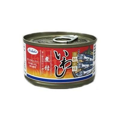 Norlake(ノルレェイク) いわし缶詰 煮付(薄口醤油使用・生姜入り) EPA・DHAパワー (日本産いわし100%使用) 150g×48缶「通販百貨 Happy Puppy」