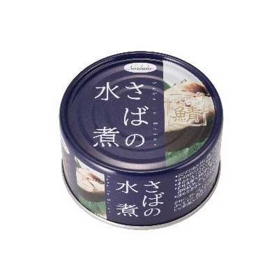 Norlake(ノルレェイク) さば缶詰 水煮 EPA・DHAパワー (国産鯖使用) 190g×48缶「通販百貨 Happy Puppy」