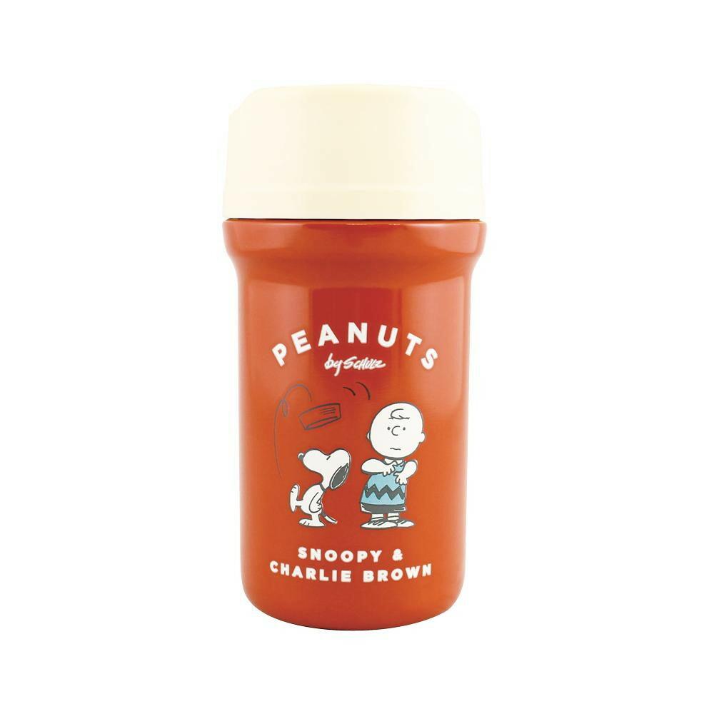 PEANUTS SNOOPY(スヌーピー) カフェマグボトル SN(スヌーピー)&CB(チャーリー・ブラウン) RED PE-2800「通販百貨 Happy Puppy」