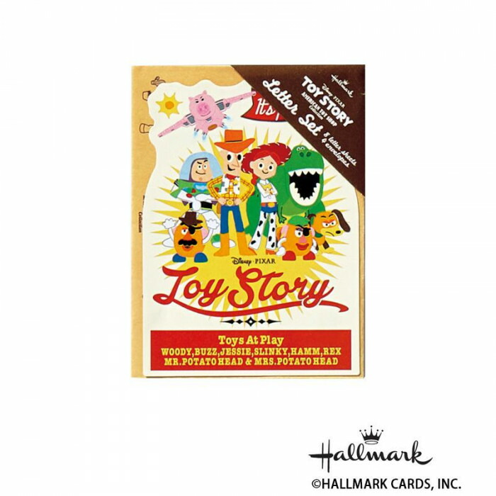 Hallmark ホールマーク ディズニー 便箋封筒セット ミニセット トイ・ストーリー 6セット 733261「NET Asahi」