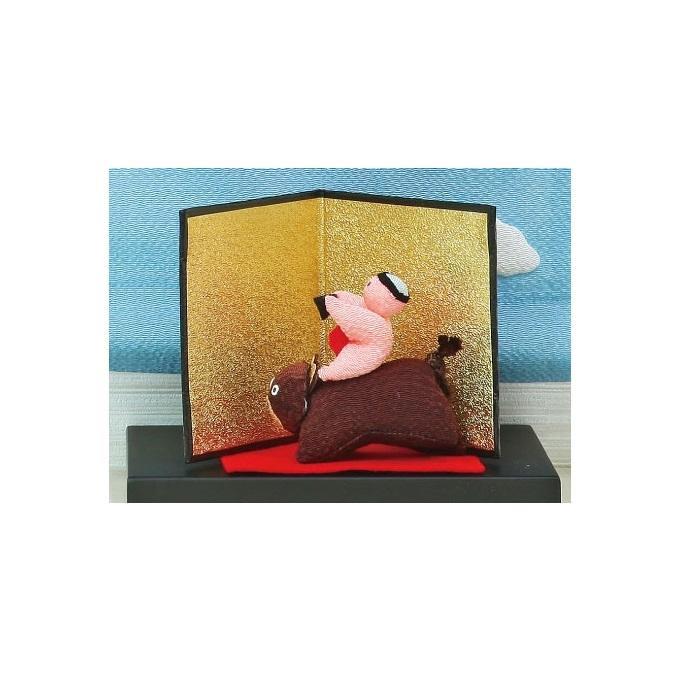 ちりめん鯉飾りセット(ちりめん鯉飾り+飾り台)「通販百貨 Happy Puppy」