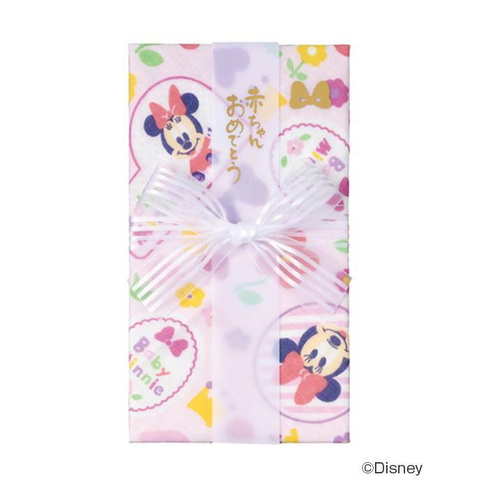 ディズニーガーゼハンカチ金封ミニー 5セット キ-D10P「NET Asahi」