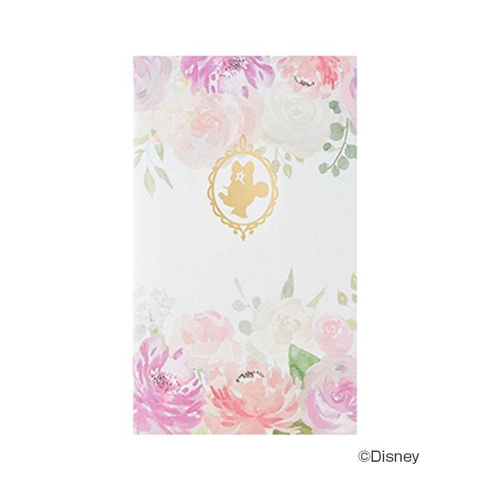 ディズニーぽち袋 フローラル ミニー 10セット ノ-DF03「NET Asahi」