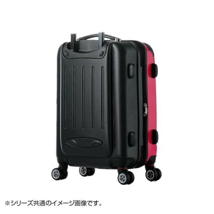 スーツケース Combined Expandable Zipper 40〜46L 80062 ブラックカーボン「通販百貨 Happy Puppy」