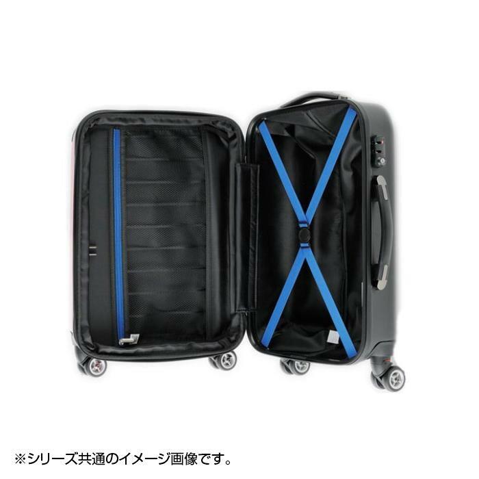 スーツケース Combined Expandable Zipper 67〜77L 80063 ブラック「通販百貨 Happy Puppy」ク