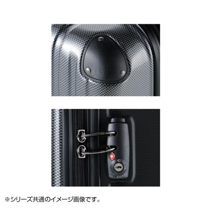 スーツケース Combined Basic Zipper 49L 80032 ブラックカーボン「通販百貨 Happy Puppy」