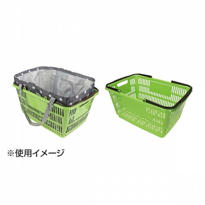 CHARMISS レジカゴトート 水玉 ブラック 15-5029-10「通販百貨 Happy Puppy」