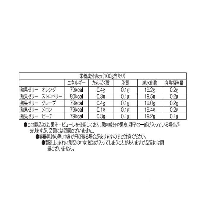 金澤兼六製菓 詰め合せギフト BOX熟果ゼリーアソート 6個入×20セット JK-6「通販百貨 Happy Puppy」