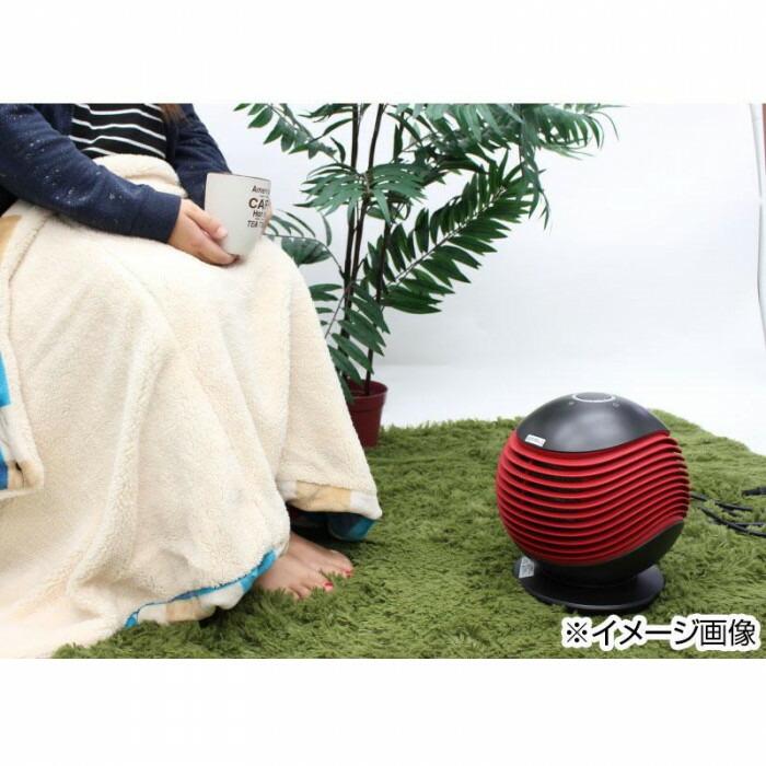 HIRO 温風PTCヒーター YD-928「通販百貨 Happy Puppy」