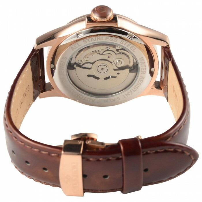 MANNINA(マンニーナ) 腕時計 MNN004-04 ブラウン「通販百貨 Happy Puppy」