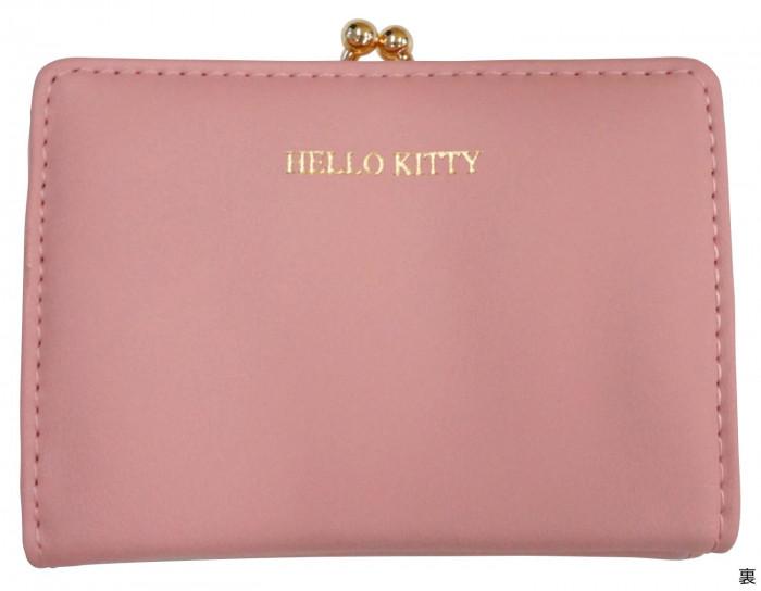 HelloKitty ハローキティ がま口ミニ財布 ピンク HK68-2「通販百貨 Happy Puppy」
