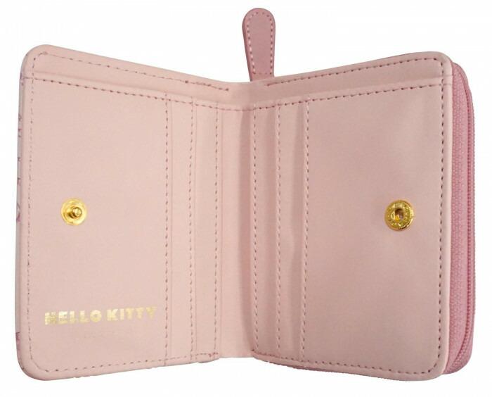 HelloKitty ハローキティ ラウンドミニ財布 ピンク HK68-3「通販百貨 Happy Puppy」