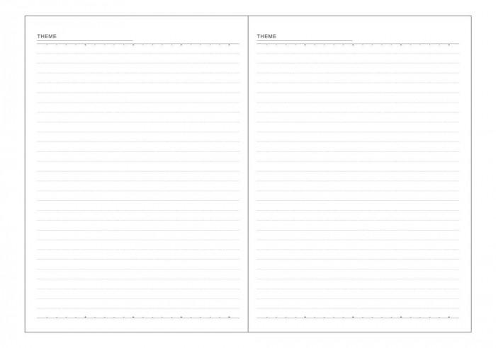 ダイゴー 2021年 手帳 ダイアリー 2021年4月始まり アポイント A5 ウィークリー E8816「NET Asahi」