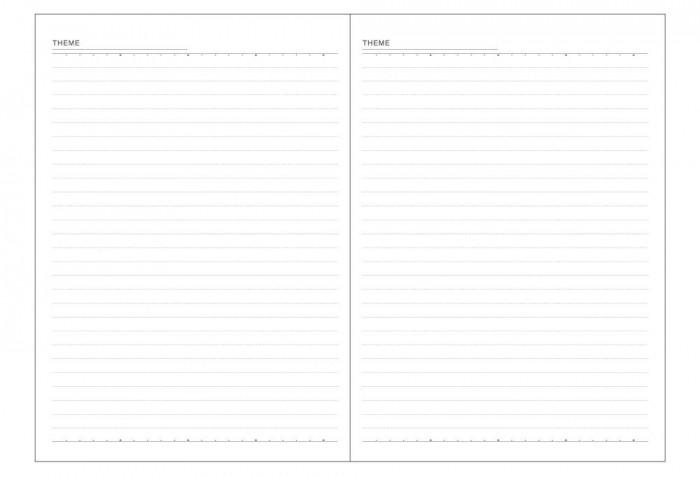 ダイゴー 2021年 手帳 ダイアリー 2021年4月始まり アポイント A5 ウィークリー E8818「NET Asahi」