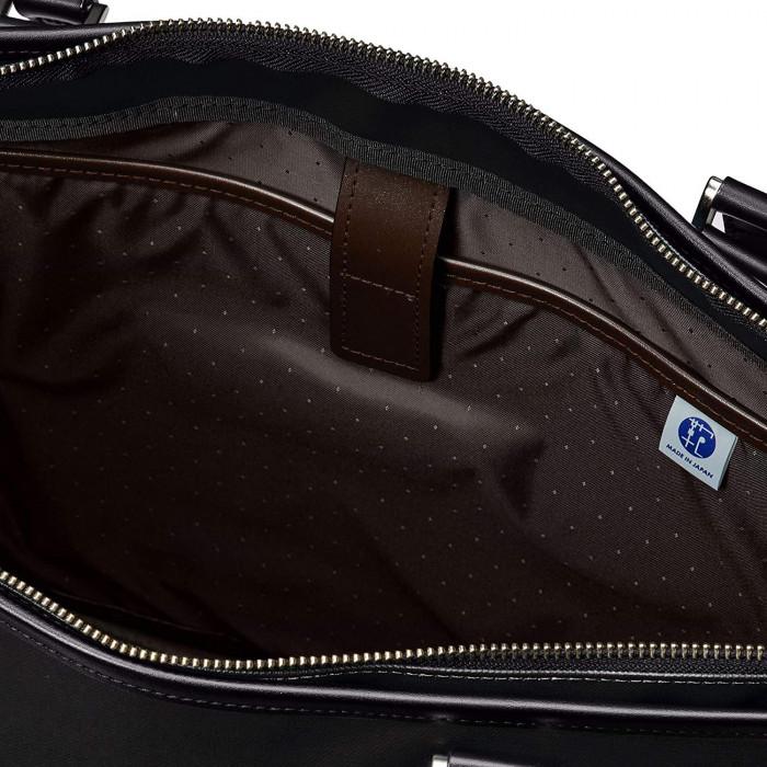日本製 EVERWIN(エバウィン) 撥水ビジネストートバッグ 21587 ブラック(245800)「通販百貨 Happy Puppy」