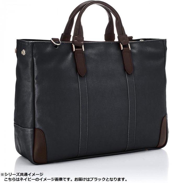 日本製 EVERWIN(エバウィン) ビジネスバッグ トートバッグ フィレンツェ 21598 ブラック(246800)「通販百貨 Happy Puppy」
