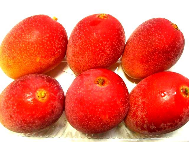 宮崎産完熟マンゴーです。