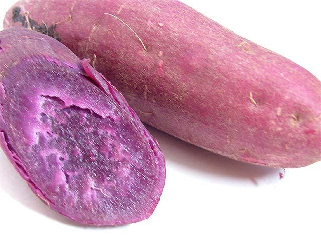 アントシアニン 綾紫いもです。