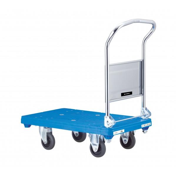 【送料無料】花岡車輌 プラスチック台車※折り畳み式 510×805 UPH-LSC