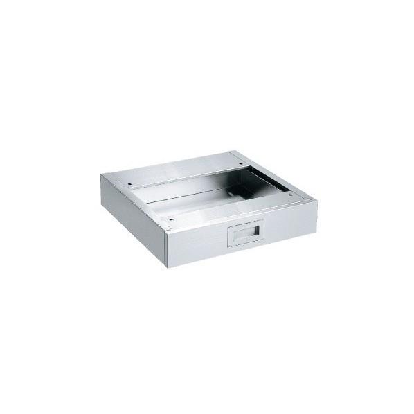 【送料無料】サカエ ステンレス作業台 オプションキャビネット(SUS430) ステンレス NKL410SUNC 1台