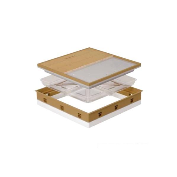 【送料無料】JOTO 高気密型床下点検口(断熱型) ブラックブラウン SPF-R45F12-UA1-BB 1セット 0