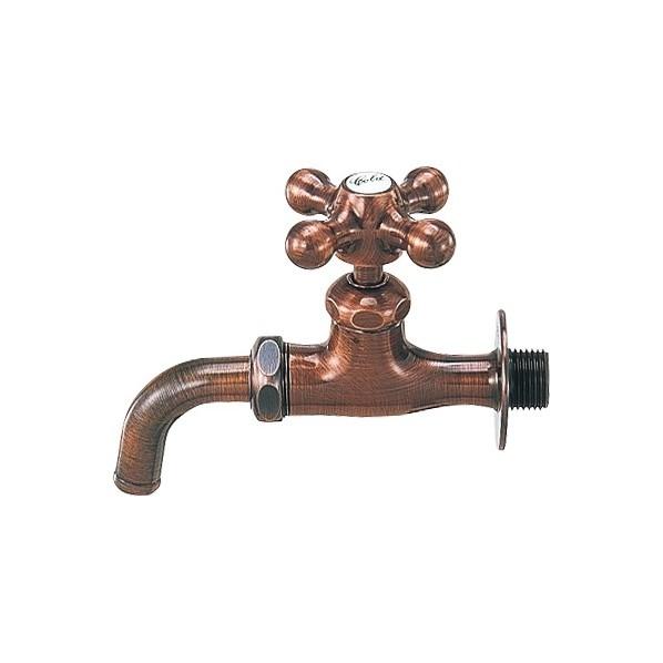 【送料無料】カクダイ(KAKUDAI) カラー吸気コマつき水栓 呼13 701-515-13 1個