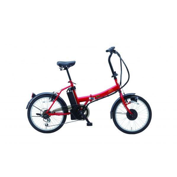 SUISUI Street 電動アシスト折畳自転車6段変速