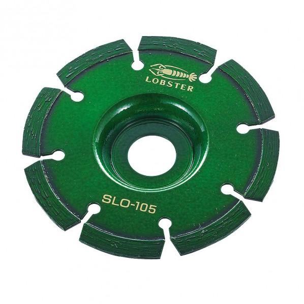 【送料無料】エビ ダイヤモンドホイールレーザー(コーナーカッター)105mm 176 x 132 x 13 mm SLO105 1点
