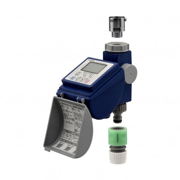 【送料無料】GAONA ガオナ 潅水コンピューター (散水タイマー 自動水やり 曜日設定 簡単操作) GA-QE001 1個