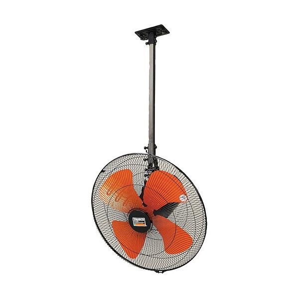 【送料無料】トラスコ(TRUSCO) 全閉式アルミハネ工場扇ゼフィールハンガータイプ(ブラック) TFZPA-45H-BK 1
