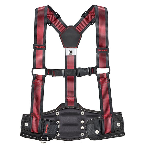 【送料無料】タジマ サスペンダーリミテッドLラインアカドウアテCRXセット 940 x 170 x 55 mm YPLLCRX-LRE 1