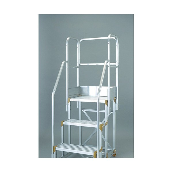 【送料無料】トラスコ(TRUSCO) 背面手すりセット600幅H=900用 685 x 420 x 40 mm TSF-P4B 1S