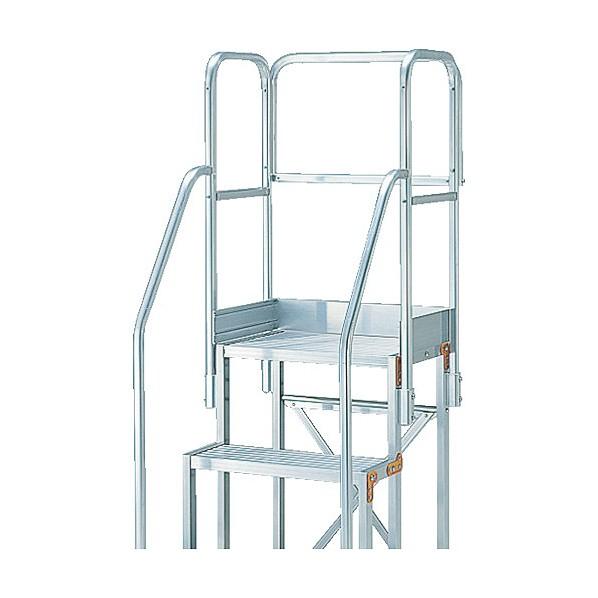 【送料無料】トラスコ(TRUSCO) 作業用踏台用手すりH1100階段両手すり天場三方TSF−369 TSF-TE5-11H 1S