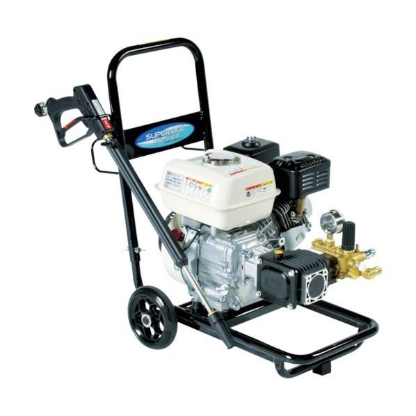 【送料無料】スーパー工業 エンジン式高圧洗浄機SEC1015-2N(コンパクト&カート型) SEC-1015-2N