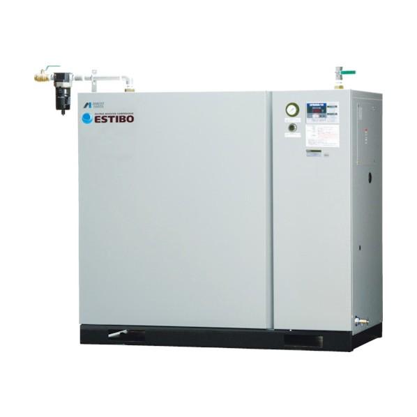 【送料無料】アネスト岩田 オイルフリーブースターコンプレッサ5.5KW60Hz CFBS55BF-14M6