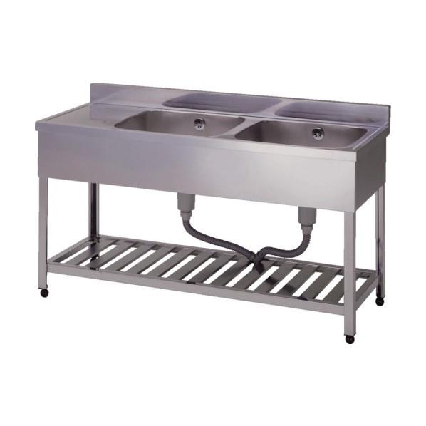 二槽水切シンク右水槽1500×600×800